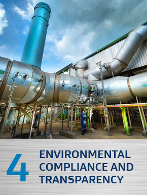 Environmental compliance and transparency